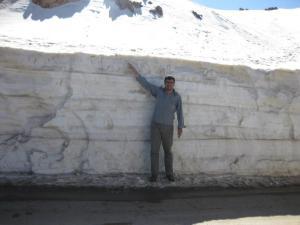 جاده مریوان به پاوه دراستان کردستان . تاریخ ششم فروردین نود و دو